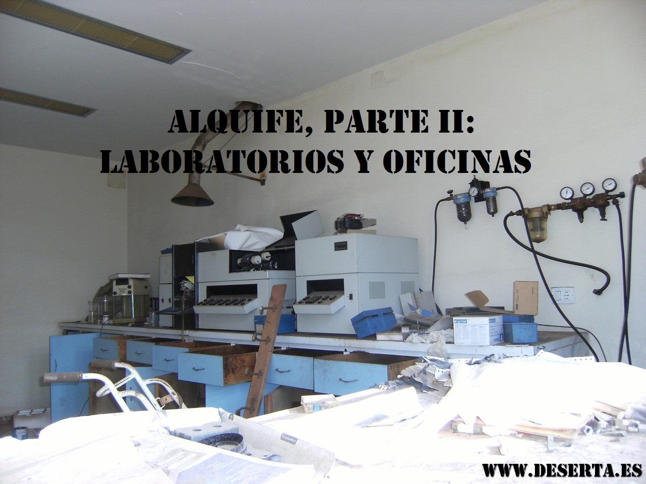 Alquife Parte II Laboratorios y Oficinas